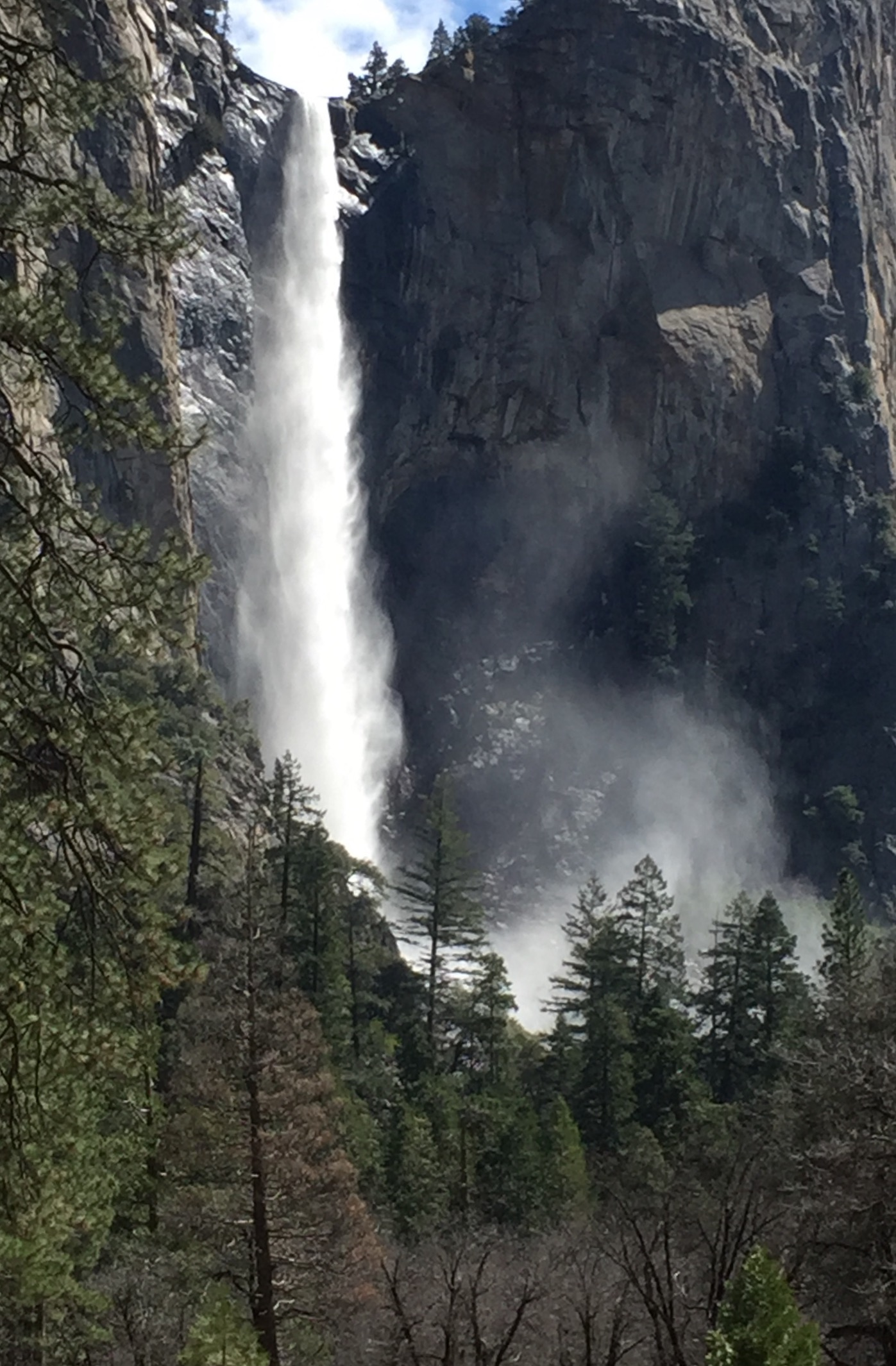 Yosemite Valley waterfall